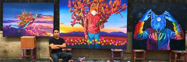 Carlos Bazán y su expresión artística